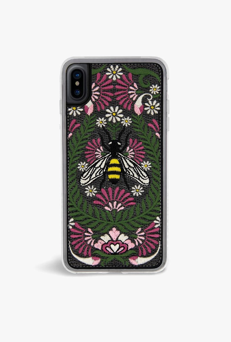 Hive Embroidered Case