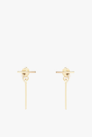 Illusion Ear Jacket Earrings