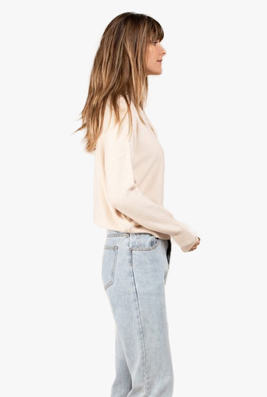 Addy Mock Neck Sweater