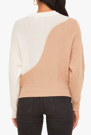 Jordyn Two Tone Sweater