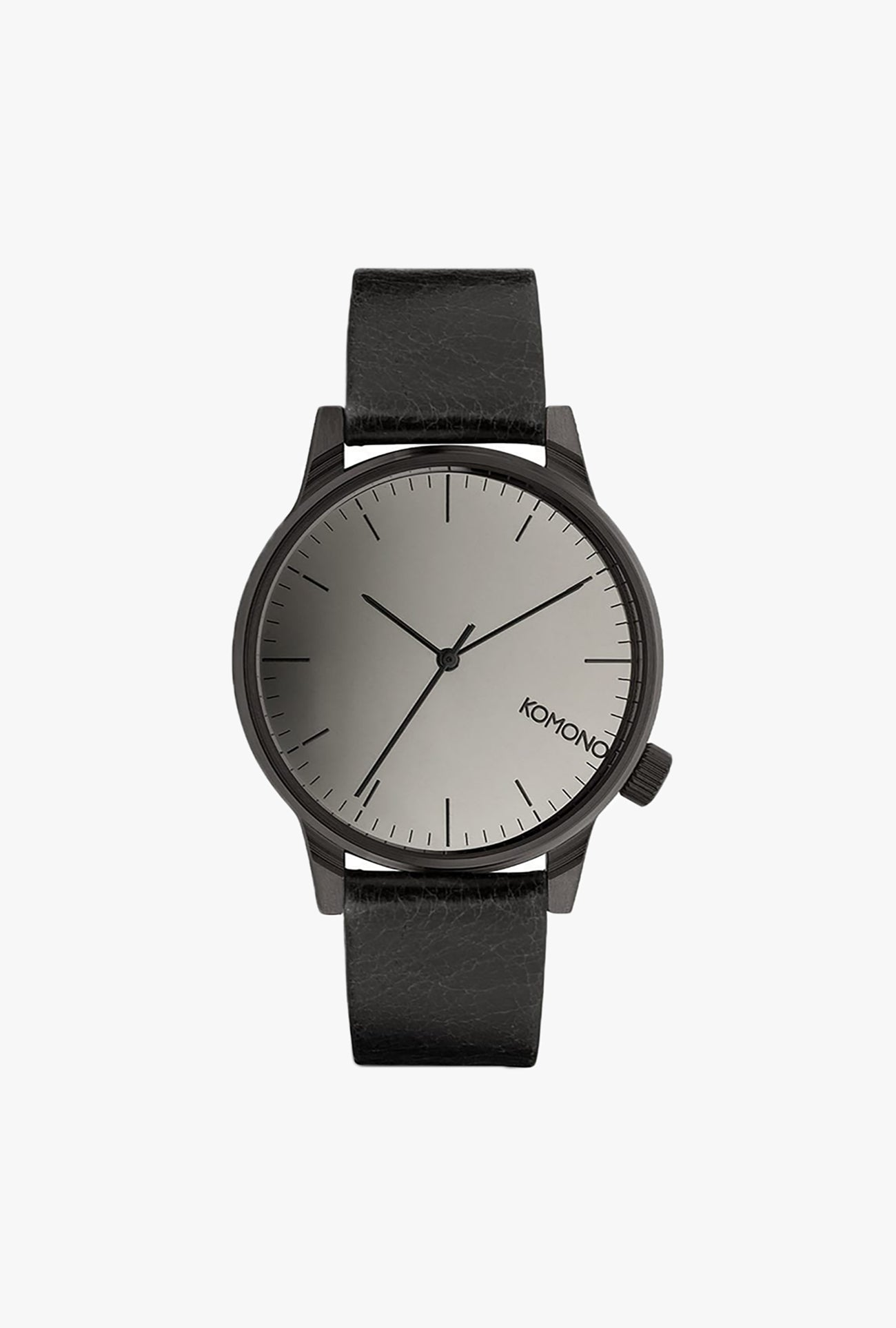 Winston Mirror Watch - Black