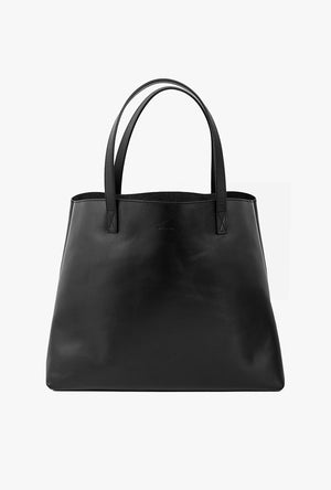 Leather Shopper Tote Bag