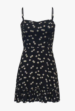 Lila Daisy Mini Dress