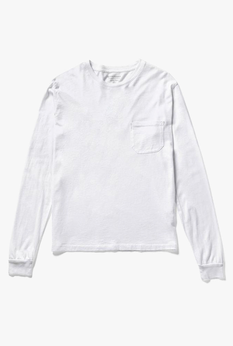 Long Sleeve Crew Pocket Tee