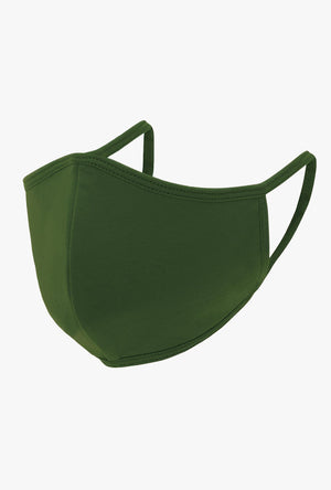 Green Cloth Face Mask
