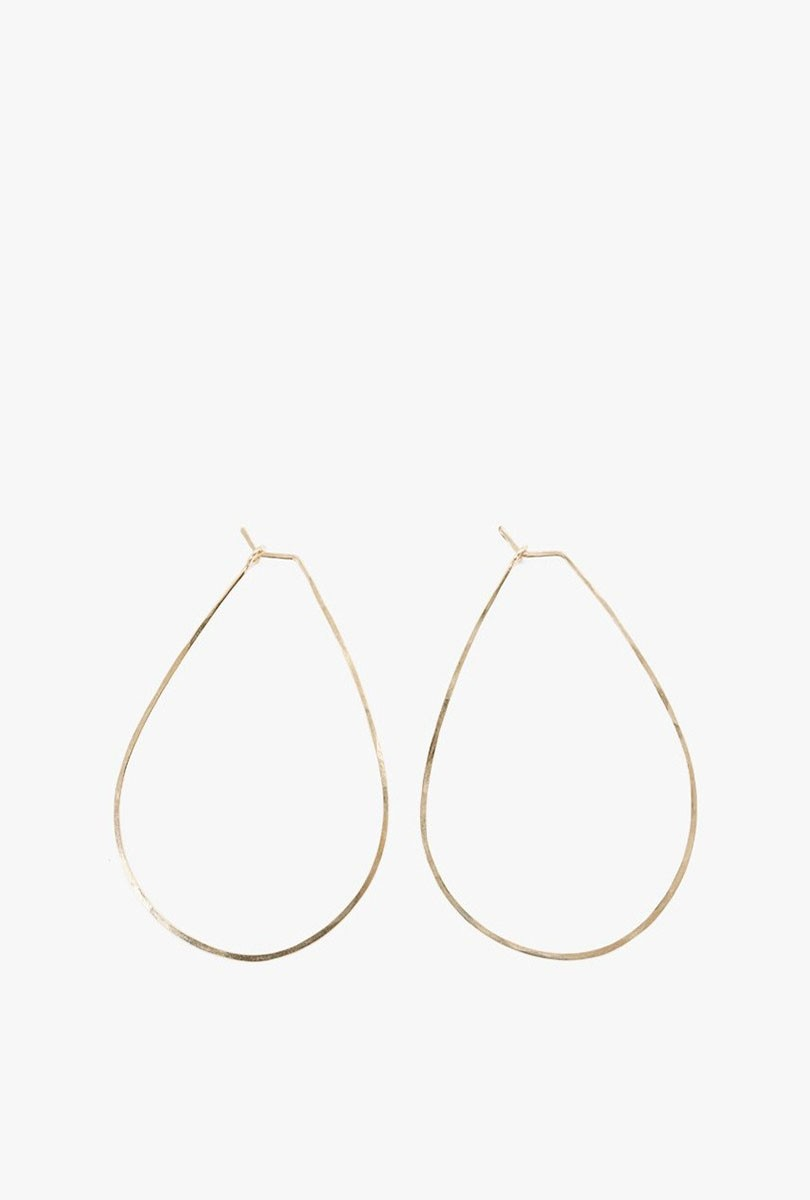 Medium Float Teardrop Earrings