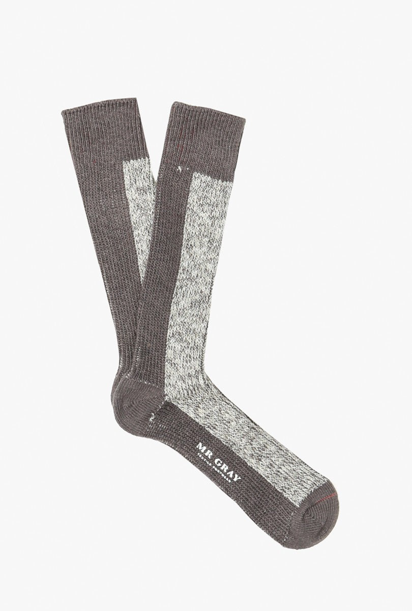 Melange Solid Sock