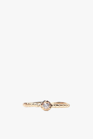 Mojave Solitaire Ring