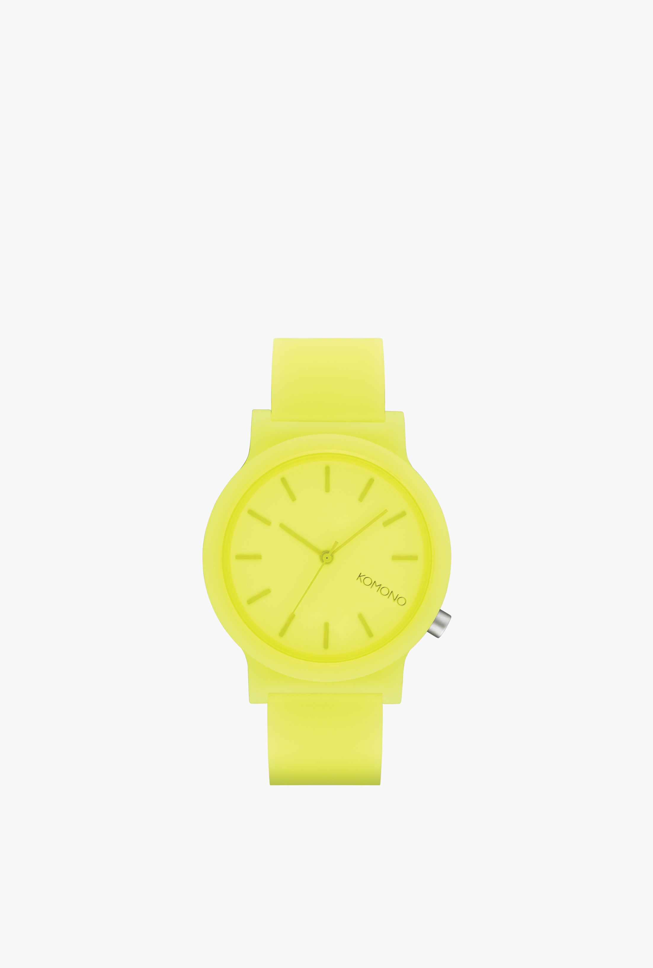 Mono Neon Yellow Glow Watch