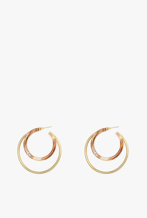 Natural Gio Hoop Earrings P