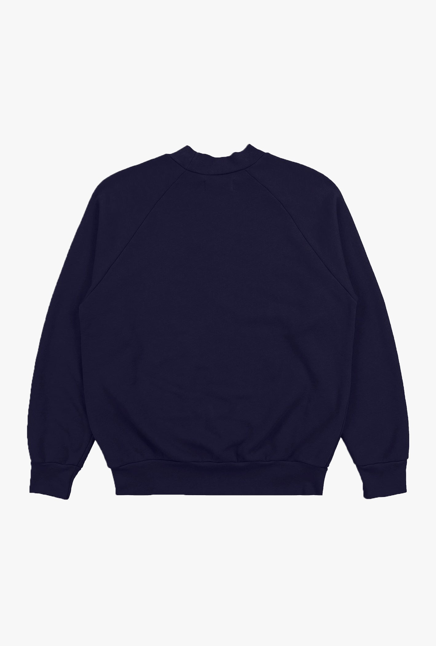 Mock Neck Vintage Raglan Sweater