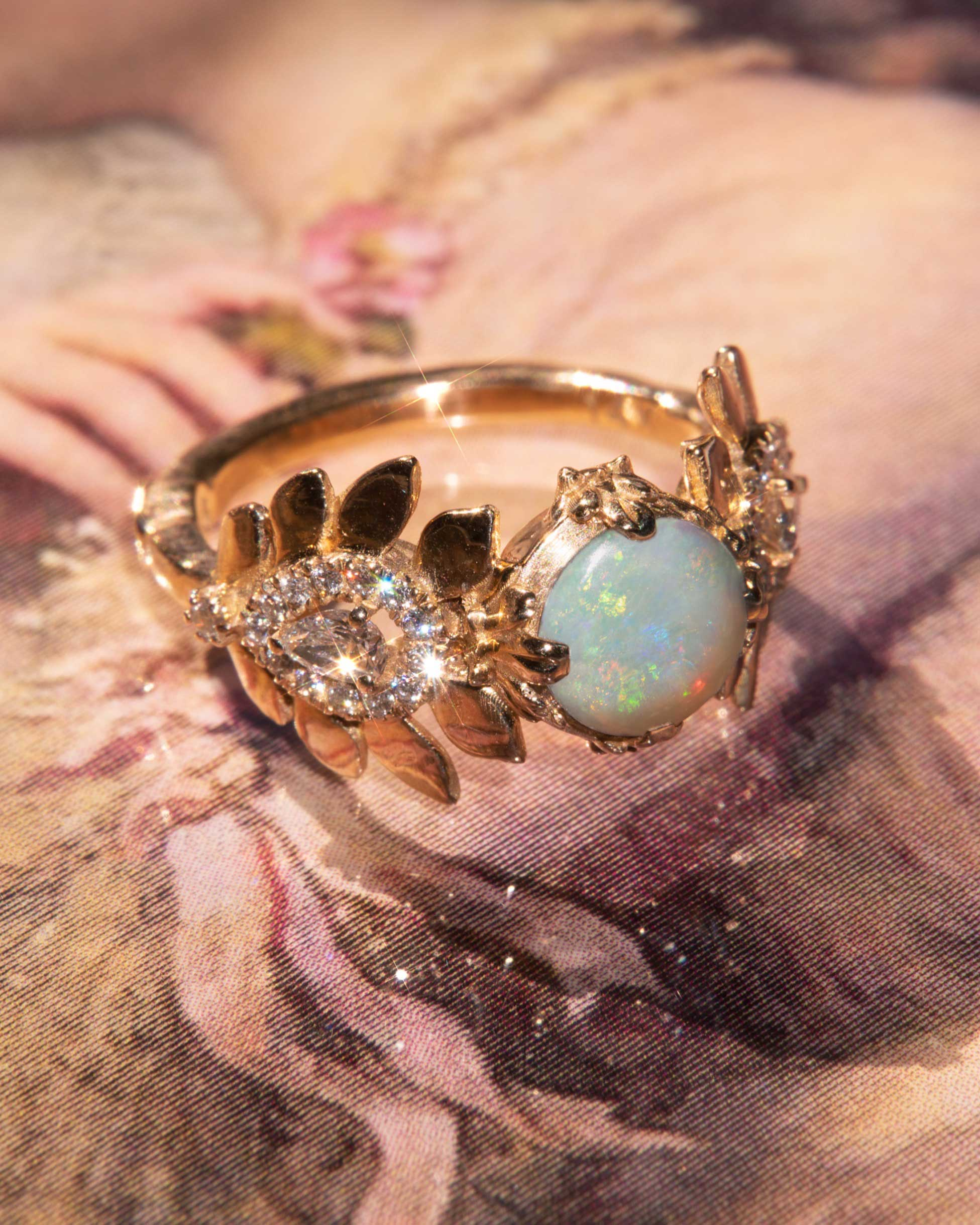 Artifact 04: The Empress in Opal Ring