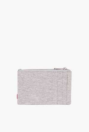 Oscar Wallet - Lt Grey Crosshatch