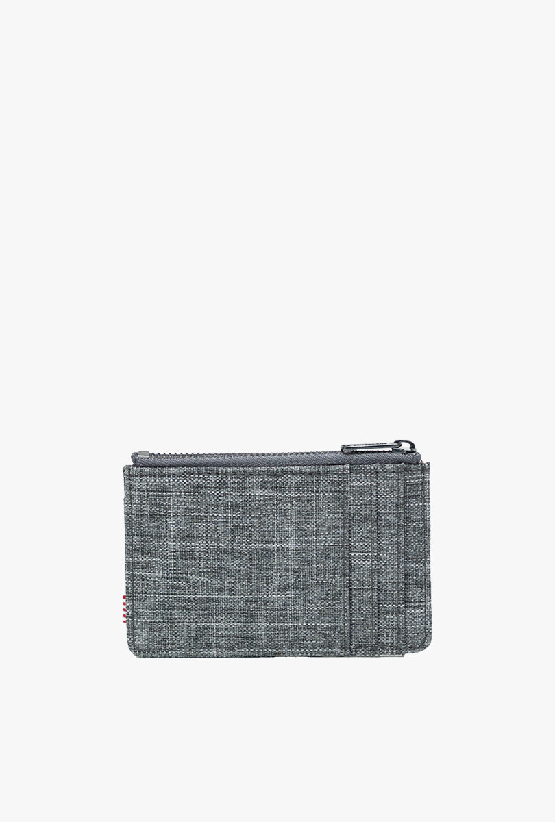 Oscar Wallet - Raven Crosshatch