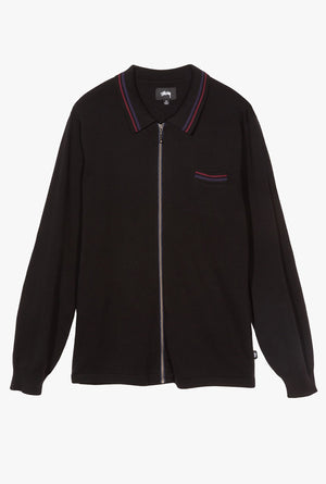 Perry Zip Polo Knit