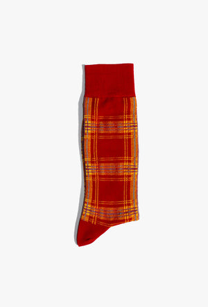 Plaid 1 Sock