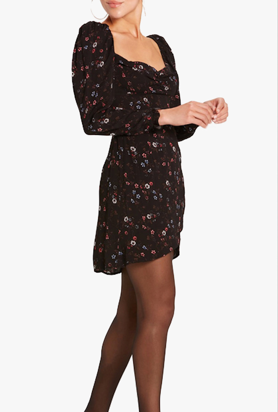 Quinn Sweetheart L/S Mini Dress