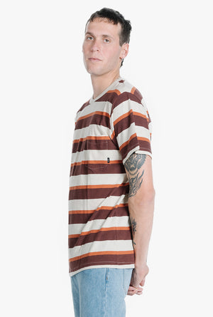 Rancho Stripe Merch Fit Pocket Tee