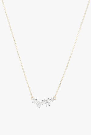 Scattered Diamond Necklace