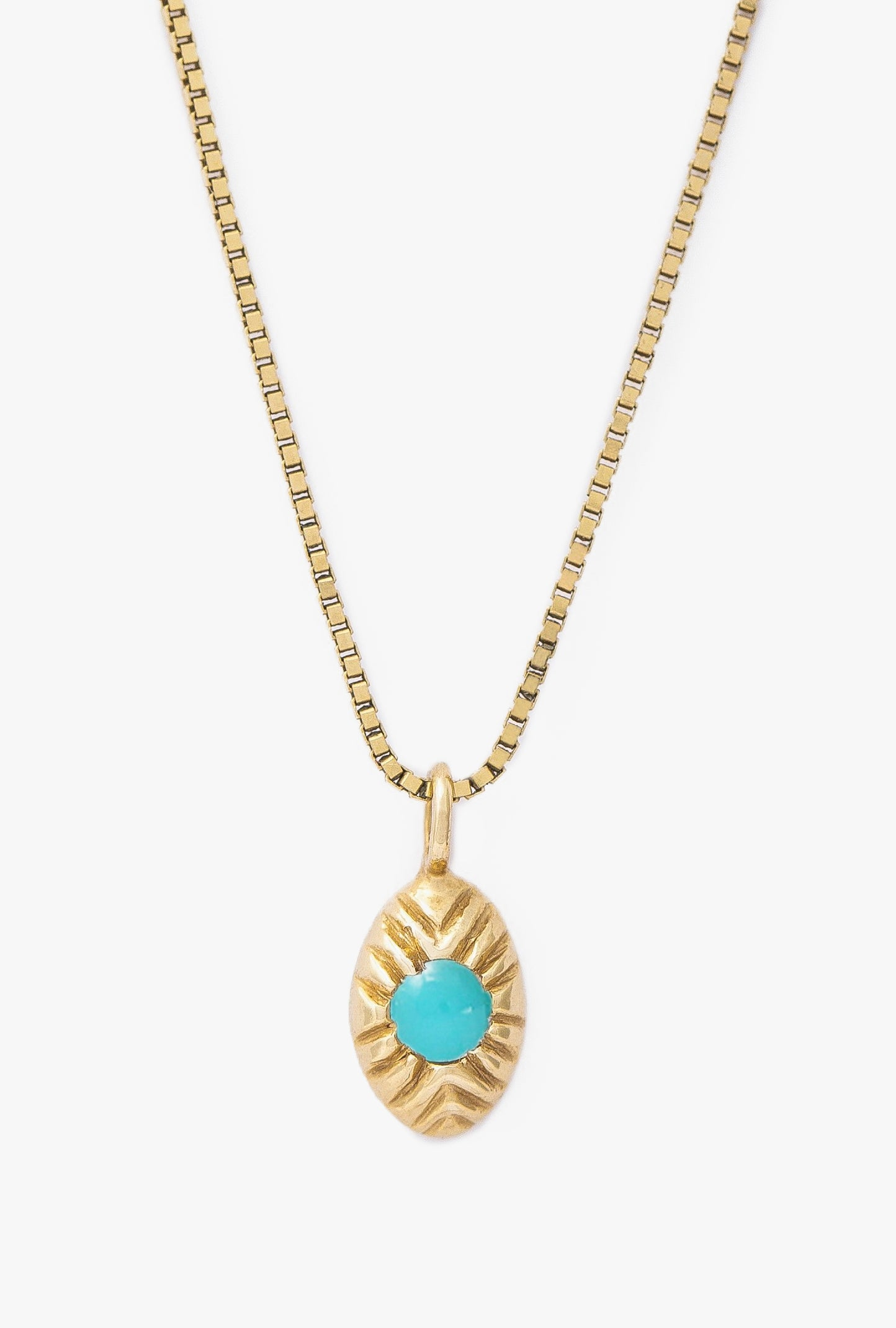 Seedling Turquoise Necklace