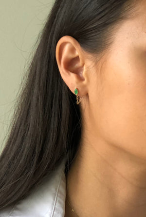 Shae Earrings Jade