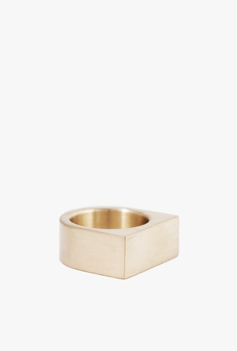Short Slab Ring - Size 6