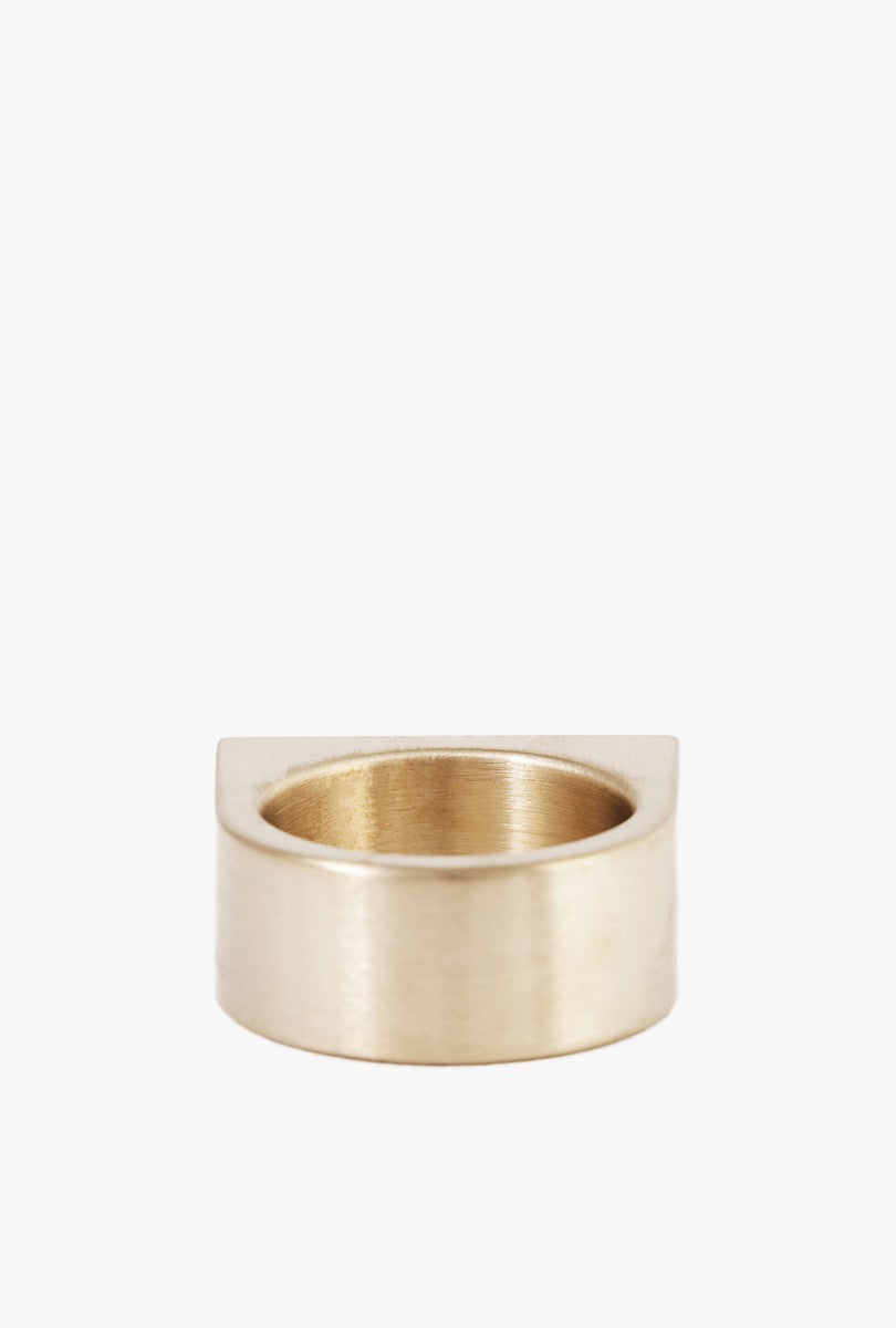 Short Slab Ring - Size 7