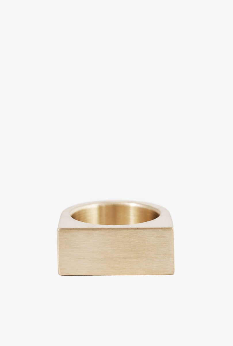 Short Slab Ring - Size 7.5