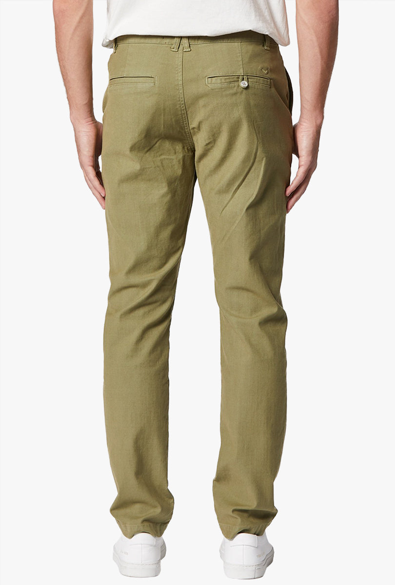 Classic Slim Straight Chino in Olive