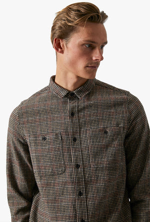 Somedays Houndstooth L/S Shirt