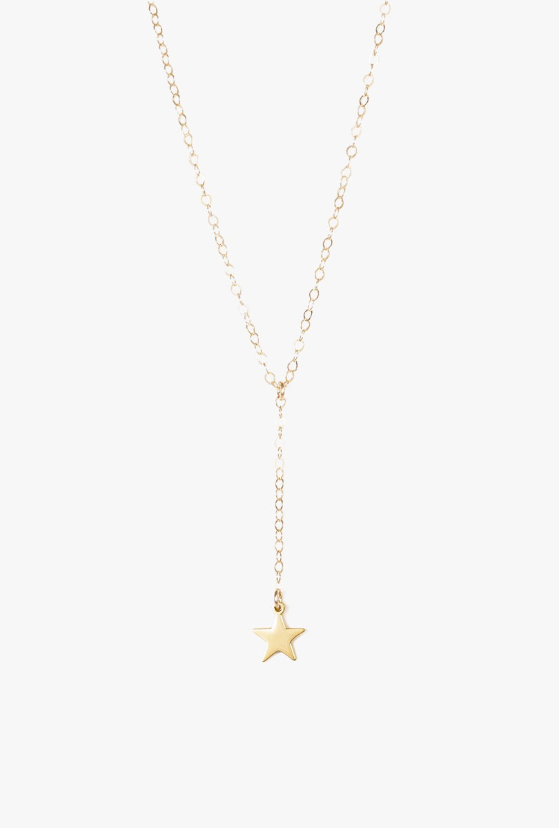 Star Lariat Necklace