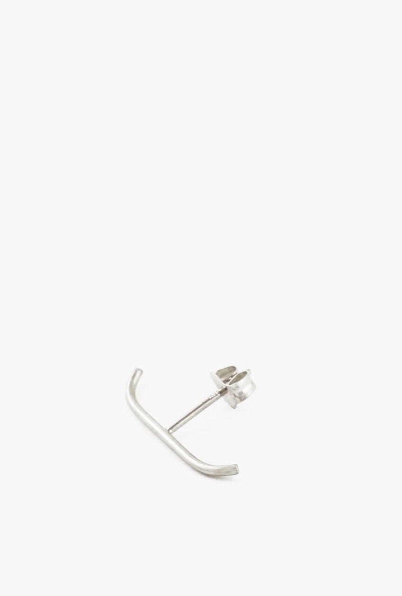 Medium Stitch Stud Earring - Single