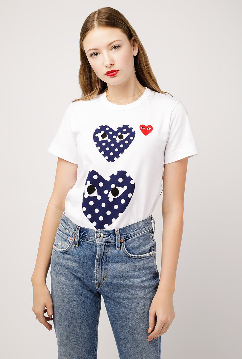 Women's Polka Dot T-Shirt