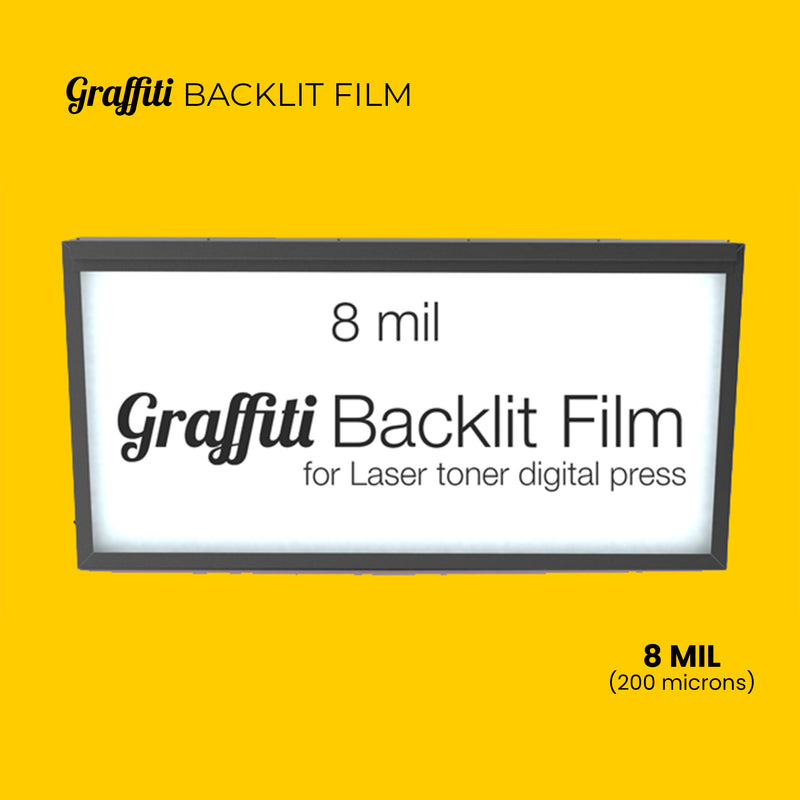 Graffiti Backlit Film - 8 mil (200 mic)