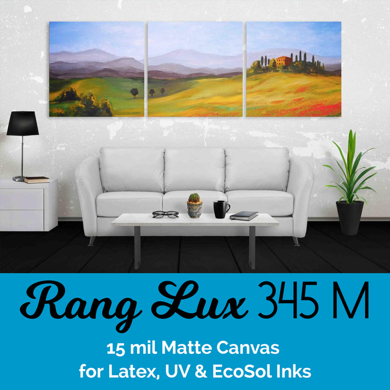 RANG LUX Cotton Canvas - 345 Matte (15 mil)
