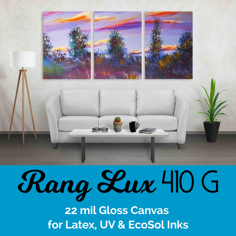 RANG LUX PolyCotton Canvas – 410 Gloss (22 mil)