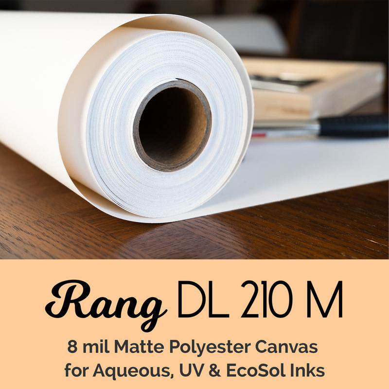 RANG DL 210 Polyester Canvas – 210 gsm