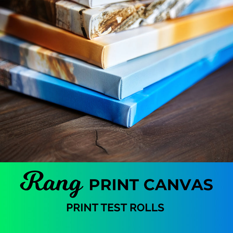 Rang Print Canvas - Print Test Rolls