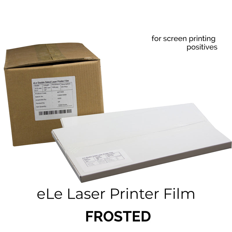 eLe Laser Positive Film (FROSTED)