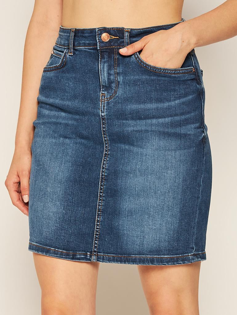 Asia vintage denim skirt