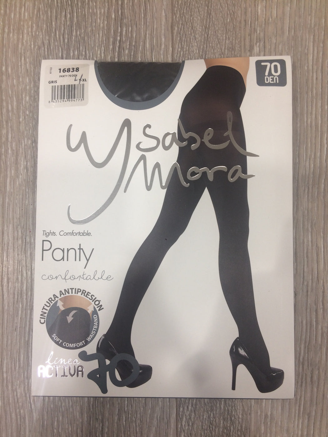 70 DEN soft tights in grey