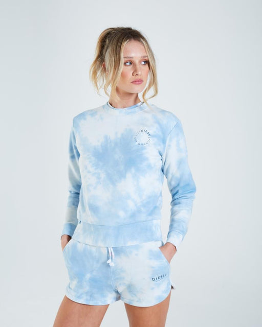 Dianna blue tie dye sweater