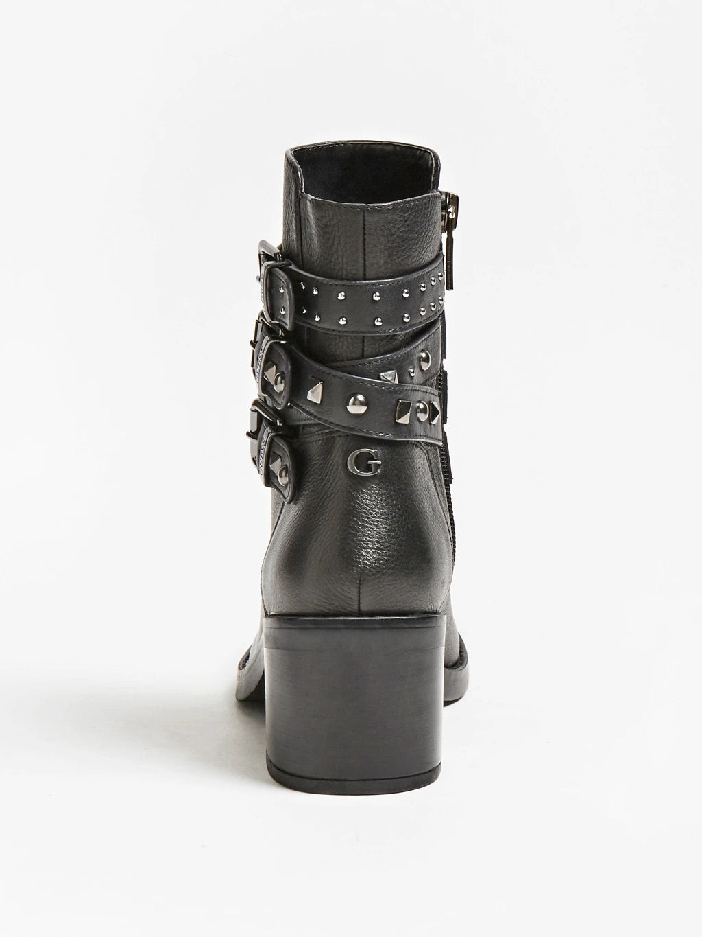 COLLEEN GUESS STUD ANKLE BOOT
