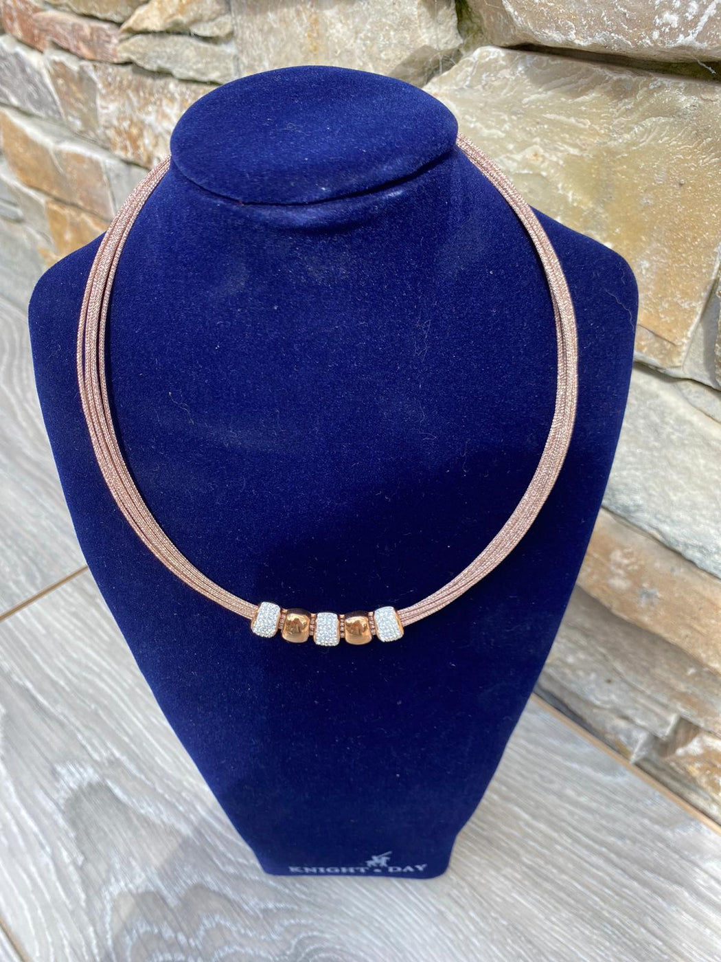 ALIANNA ROSE GOLD  NECKLACE
