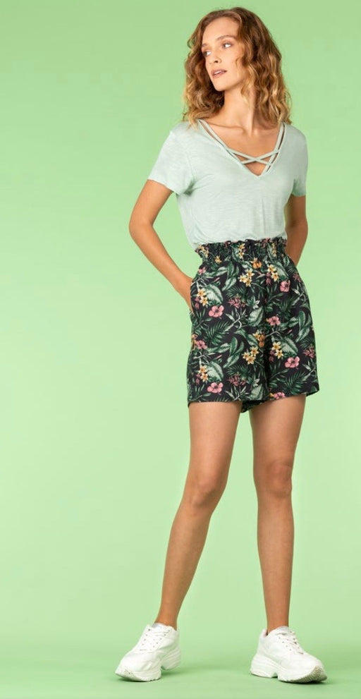 Raquel floral prints shorts