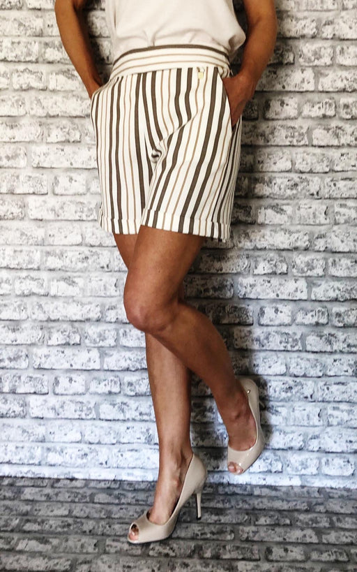 Jessica Striped Shorts
