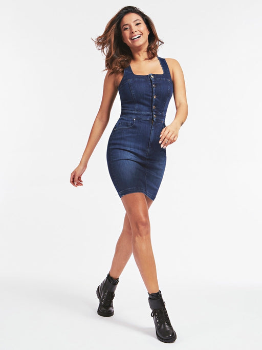 Margot bi stretch guess denim dress