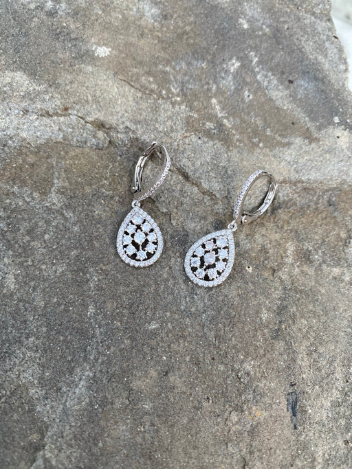 JULIETA RHODIUM EARRINGS