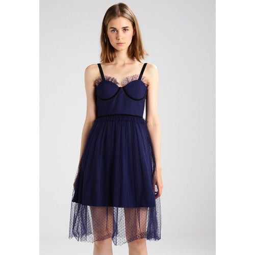 LOST INK NAVY DRESS