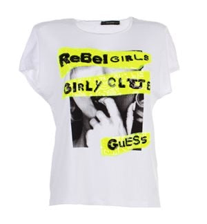 Guess white Shelly tee